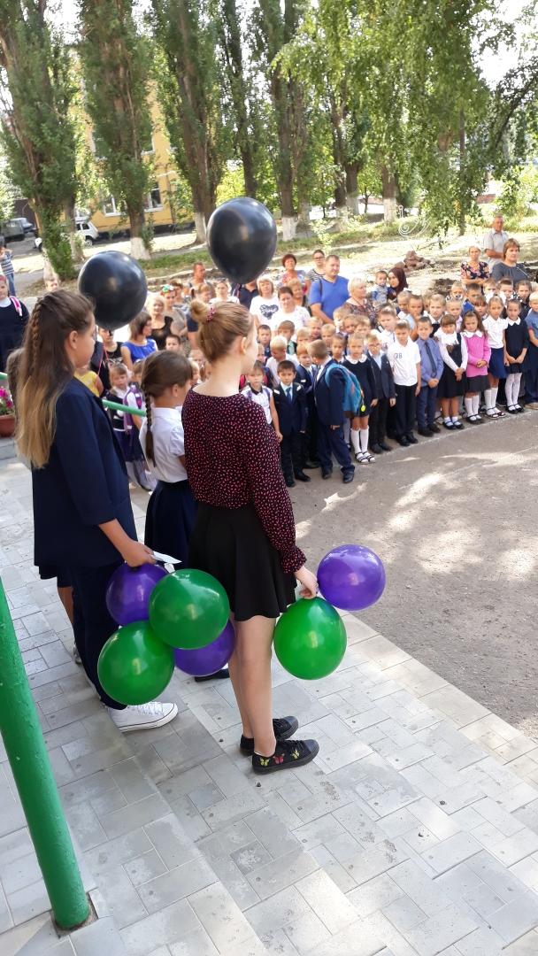 В День солидарности борьбы с терроризмом в школе №5 прошёл митинг