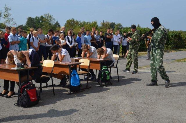 В Грязинском районе прошло мероприятие, посвящённое Дню солидарности и борьбы с терроризмом