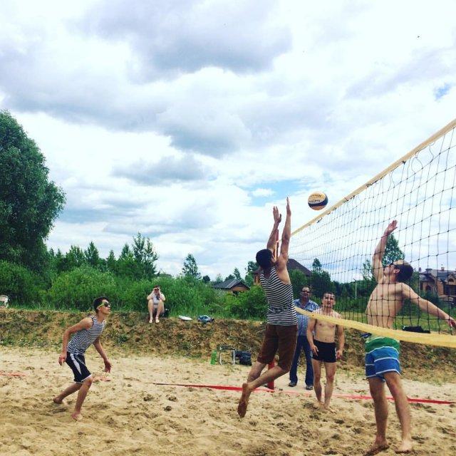 В Грязинском районе завтра завершается сезон пляжного волейбола