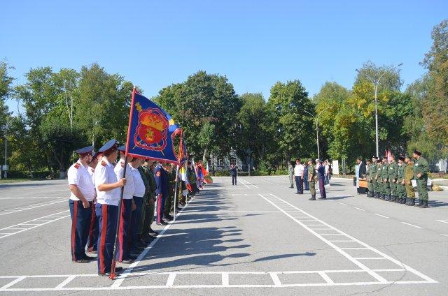 Грязинцы стали призёрами в областных соревнованиях по военно-прикладным дисциплинам