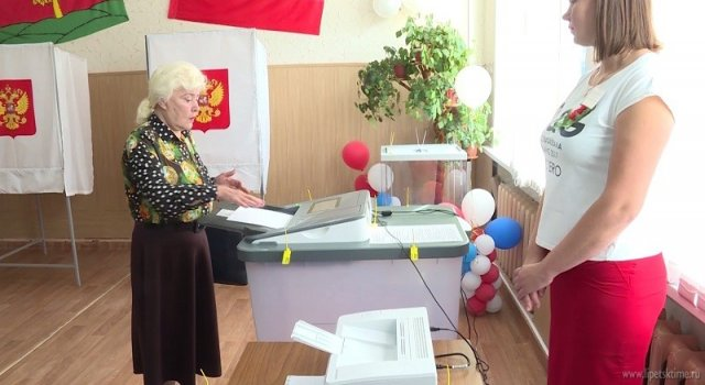 В Липецкой области снова проголосовали за «Единую Россию»