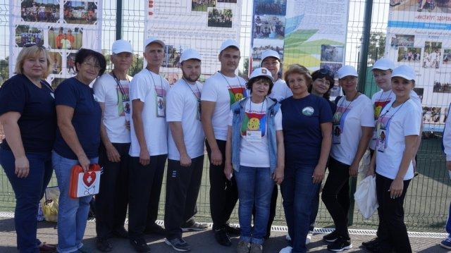 Грязинские социальные работники заняли 2-е место в областной спартакиаде